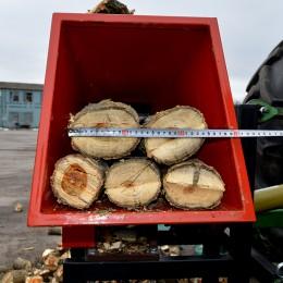 Блок измельчителя / диаметр ветки до 130 мм