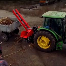 ИЗМЕЛЬЧИТЕЛЬ ВЕТОК TN-130TK3 PRO с конвейерной лентой 3м